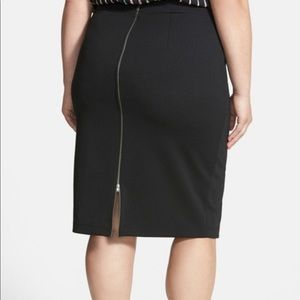 Halogen Zip Up/Down, Back or Front, Pencil Skirt.
